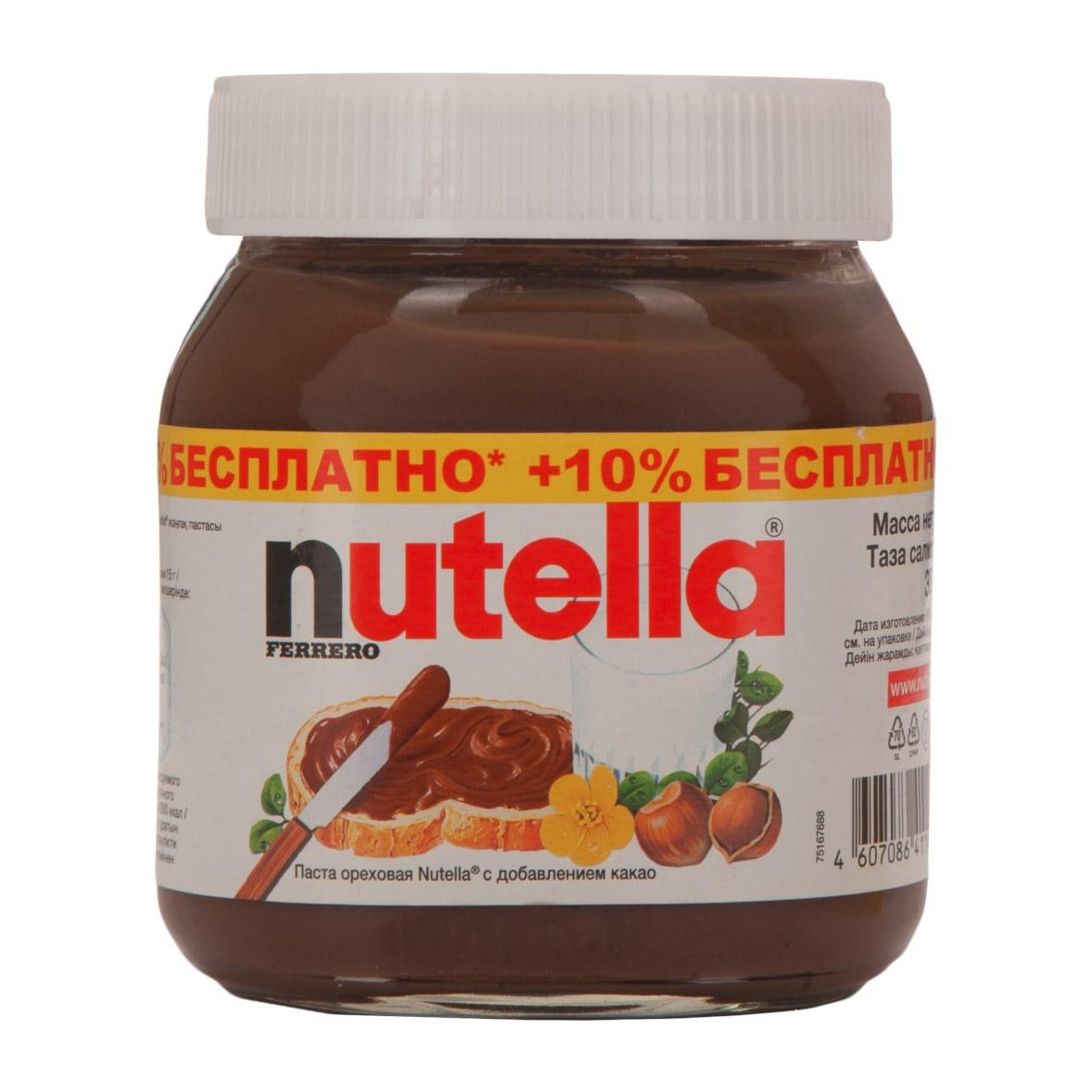 Ореховая паста Nutella 385 г.