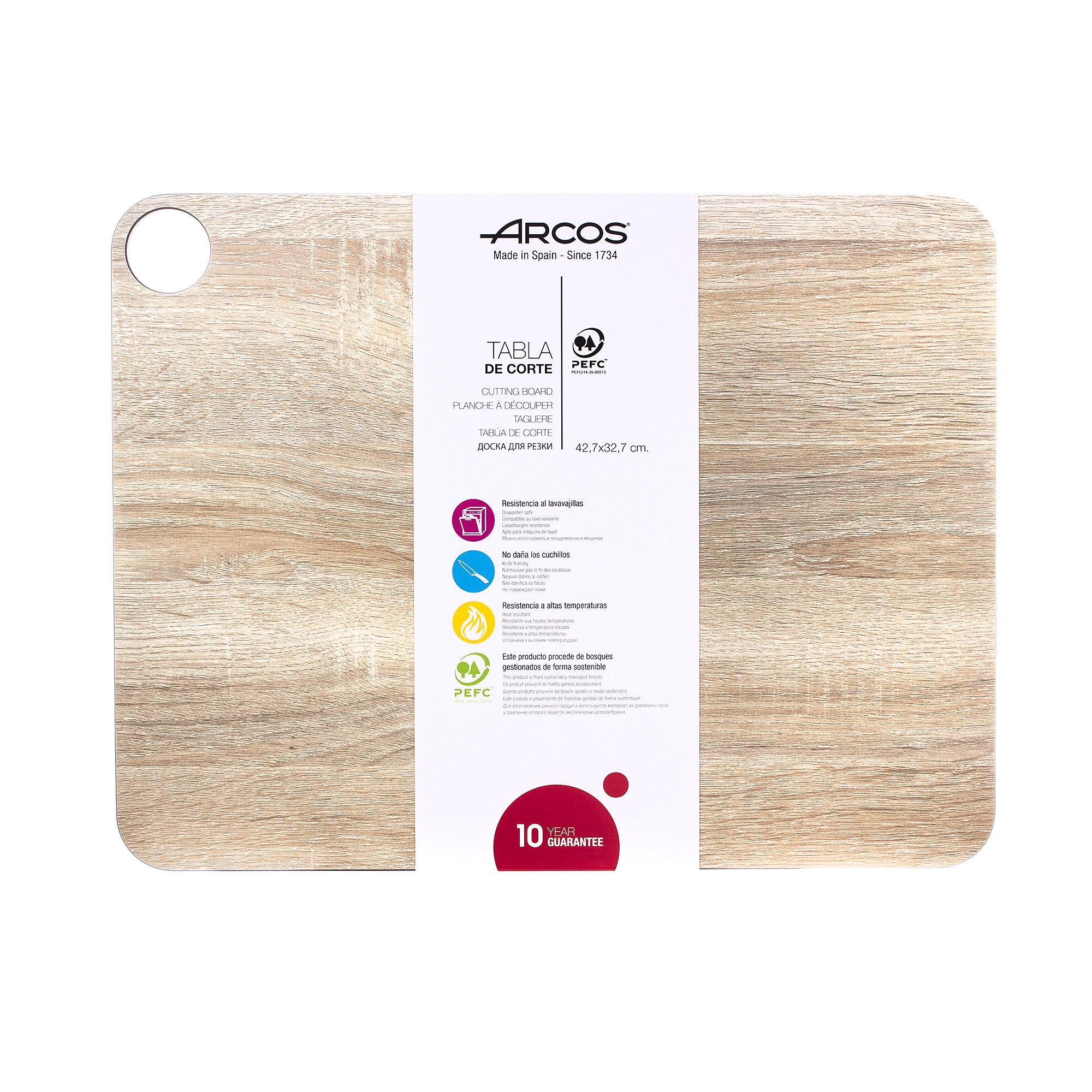 Доска разделочная Arcos Accessories 42,7х32,7 см доска разделочная arcos accessories 24х14 см