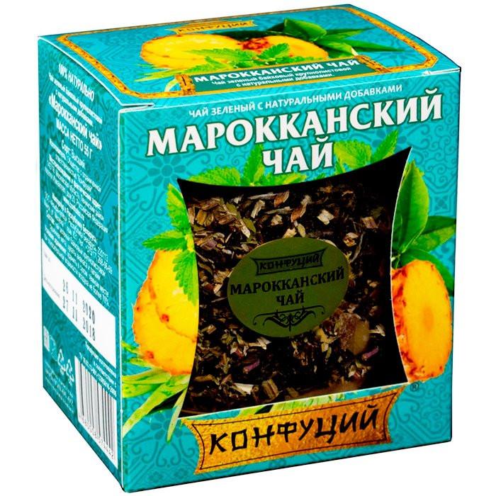 Чай зеленый Конфуций Марокканский 55 г