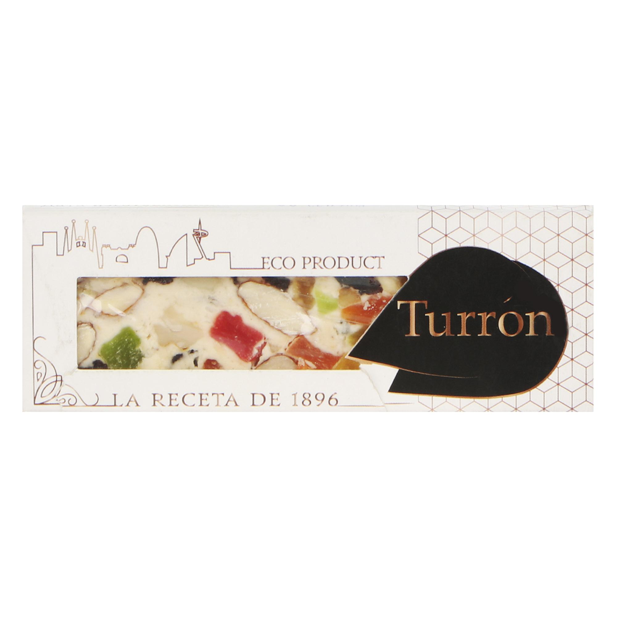 Фото - Туррон Turron de Montserrat с орехами и сухофруктами 50 г шоколадный баточник nuts с орехами 50 г