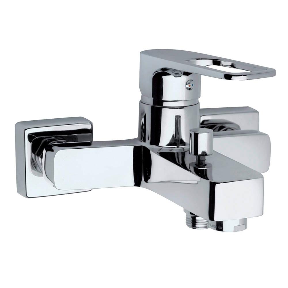Смеситель Paini Flat KKCR1112SLMKM для ванны с душем термостат для ванны paini lady 89op105thkm