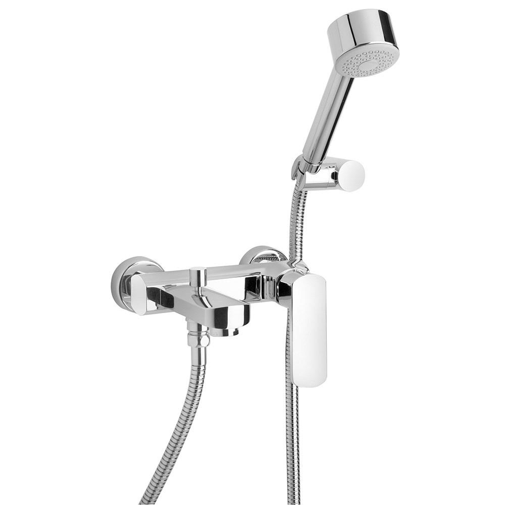 Смеситель Paini Ovo 86CR1052SKM для ванны с душем термостат для ванны paini lady 89op105thkm