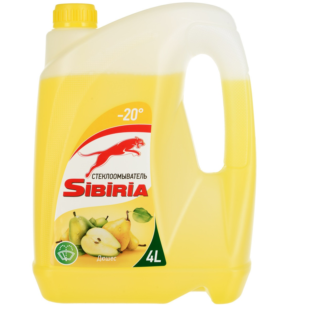 Жидкость незамерзающая Sibiria -20 дюшес 4л.