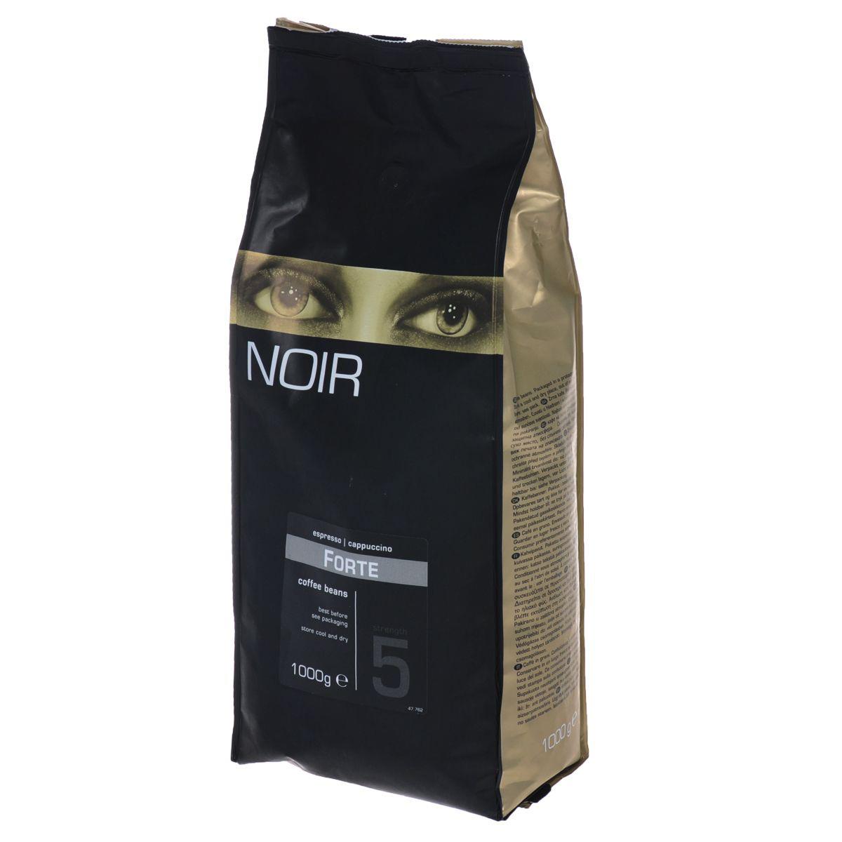 Кофе в зернах Noir Forte 1 кг фото