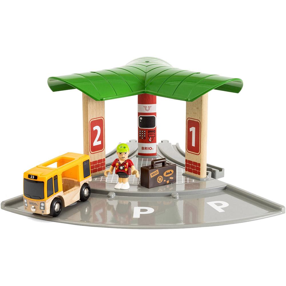 Фото - Игровой набор BRIO Автобусная и железнодорожная станция 33427 набор игровой brio супер делюкс город 106 деталей