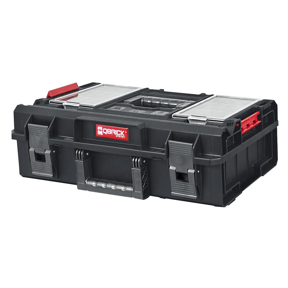 Фото - Ящик для инструментов QBRICK SYSTEM ONE 200 PROFI 585x385x190мм ящик для инструментов qbrick system one 200 basic 585x385x190mm 10501231