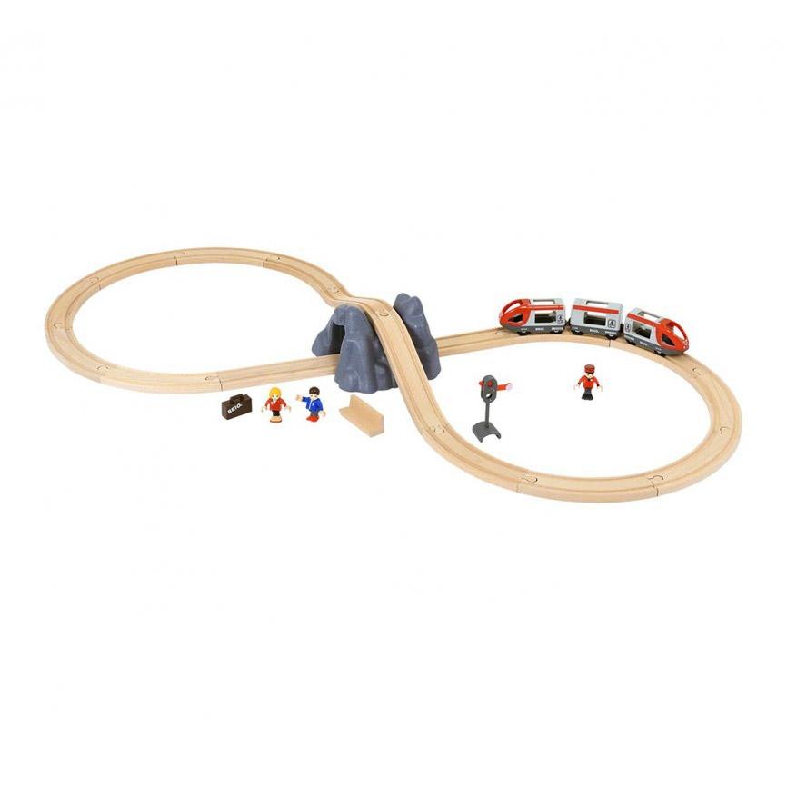 Железная дорога Brio 26 деталей