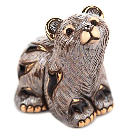 Статуэтка De Rosa Медвежонок гризли (F348)