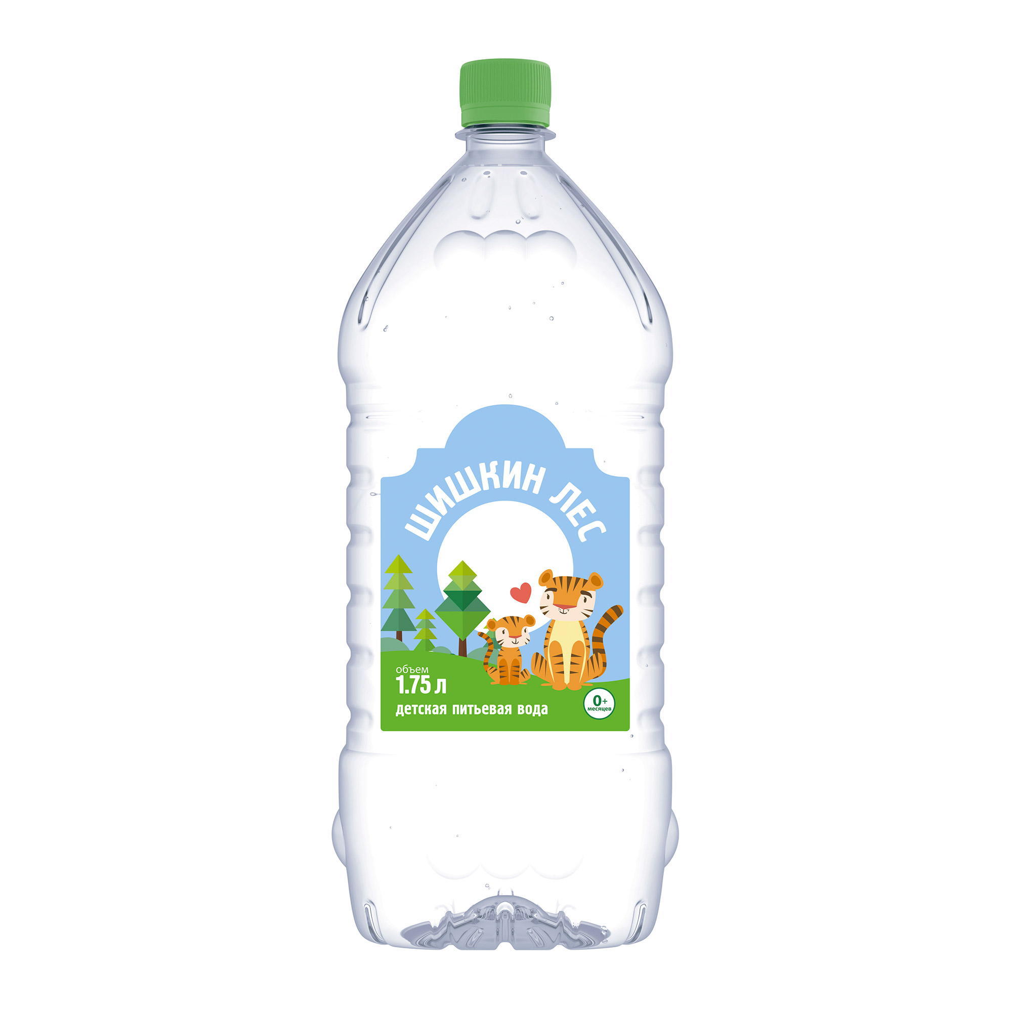 Вода детская Шишкин лес с 0 месяцев 1,75 л фото