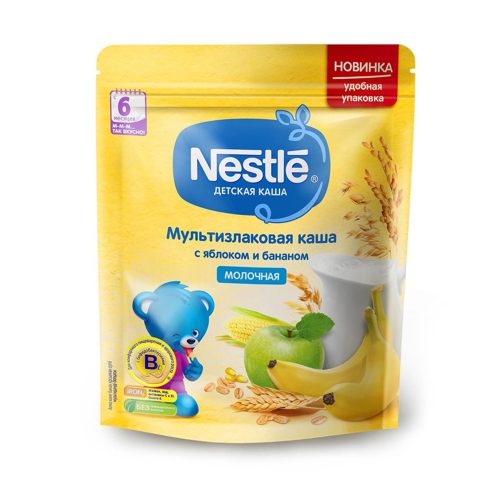 Фото - Каша молочная Nestle мультизлаковая яблоко-банан с 6-ти месяцев 220 г marion nestle pet food politics