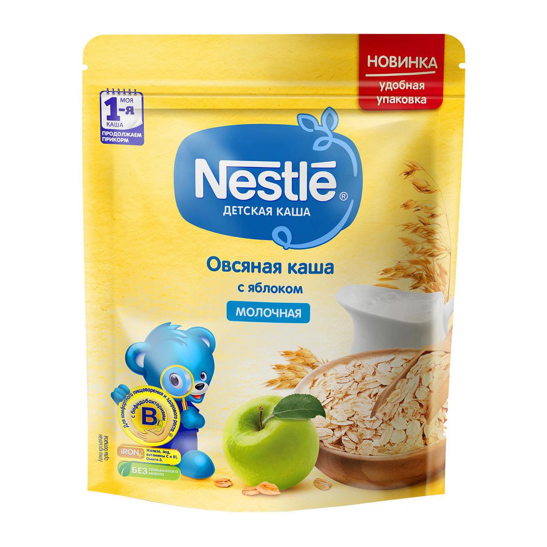Каша молочная Nestle овсяная с яблокомс 5-ти месяцев 220 г