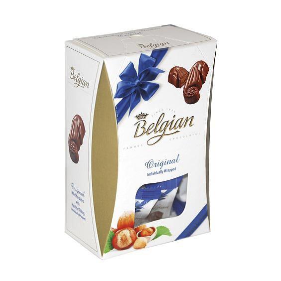 набор pergale шоколадных конфет из темного шоколада 187 г Ассорти шоколадных конфет Belgian Дары моря из молочного шоколада с ореховой начинкой 135 г