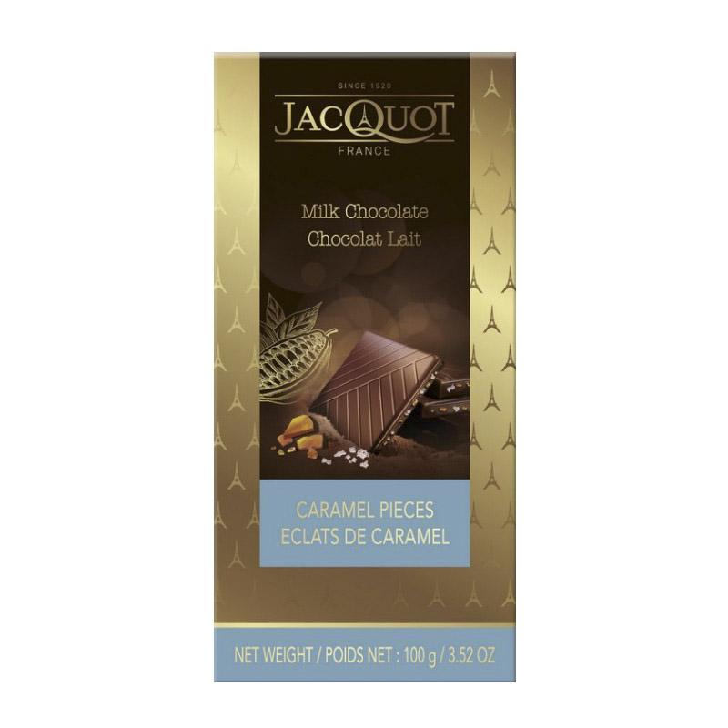 шоколад ameri молочный с карамелью и морской солью 100 г Шоколад Jacquot молочный с кусочками карамели и морской солью 100 г