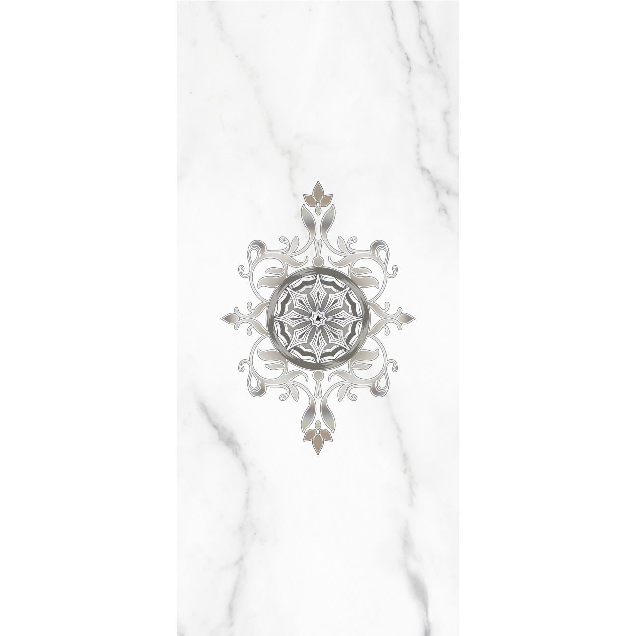 Фото - Декор PiezaRosa Crystal 20x45 см Белый декор piezarosa цезарь 1 серый 25х40 см 342571