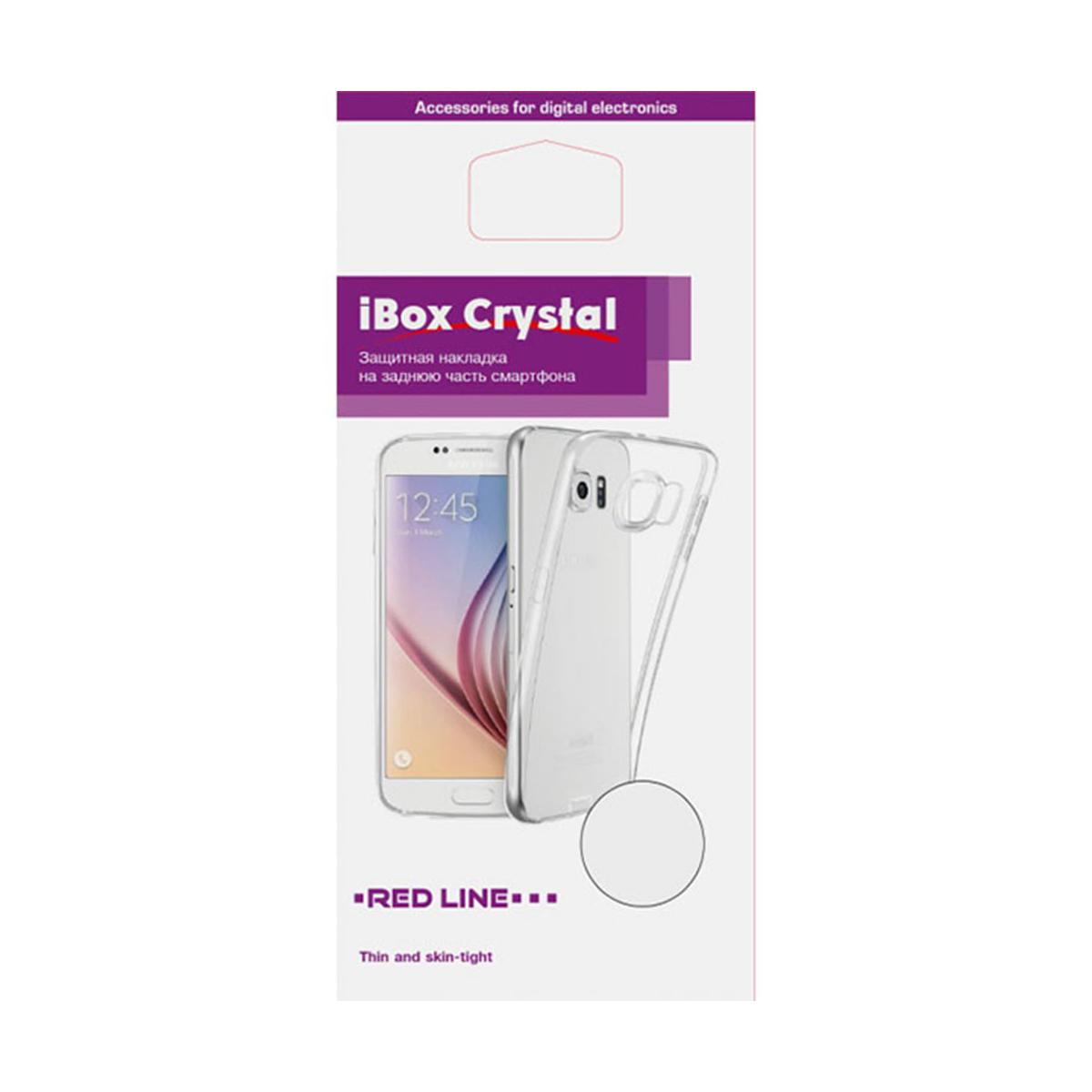 Чехол Red Line iBox Crystal для Xiaomi Redmi 7A, прозрачный