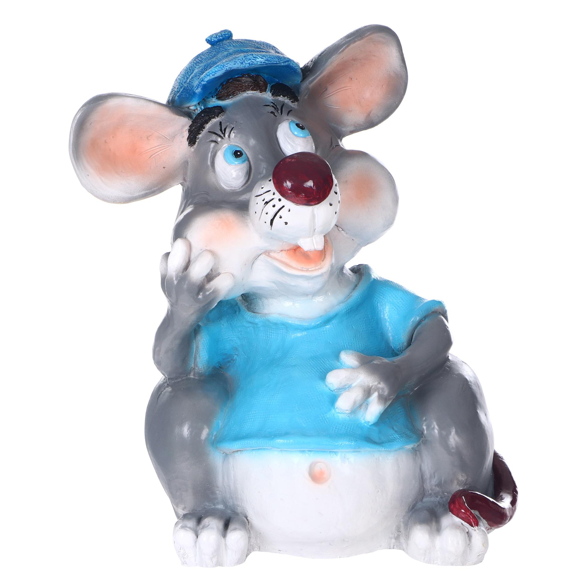 Фигура ТПК Полиформ Мышка в кепке 40 см