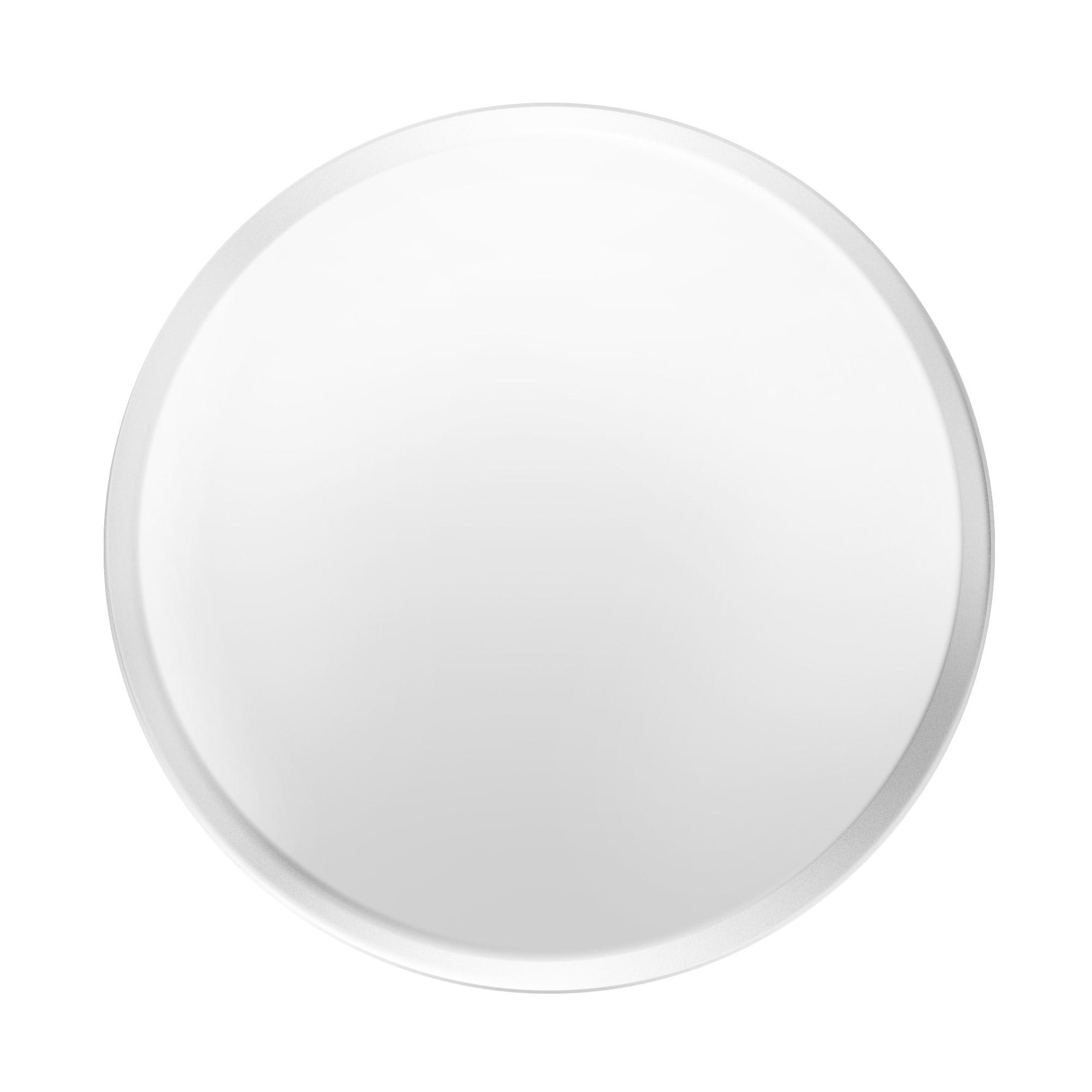 Купить Тарелка декоративная Sandra rich mirror д25см, белый, стекло