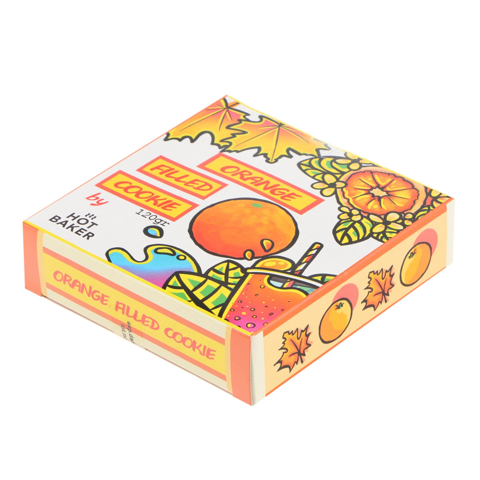 Печенье шоколадное HOT BAKER TART Апельсин 120 г