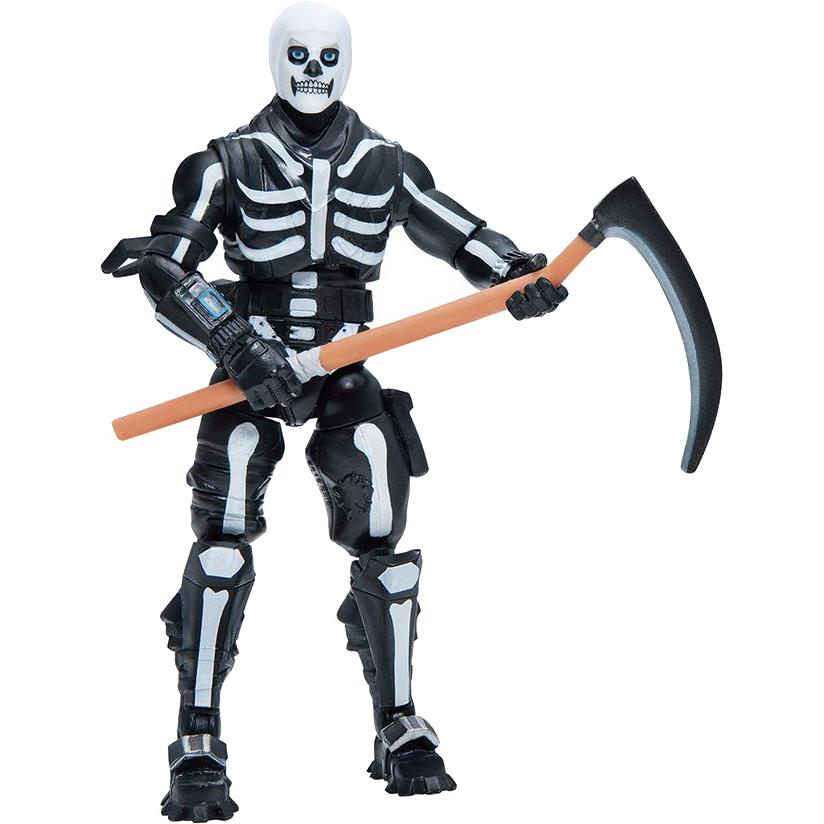 Купить Фигурка Fortnite Skull Trooper FNT0073, белый, черный, пластик, для мальчиков, Наборы игровые