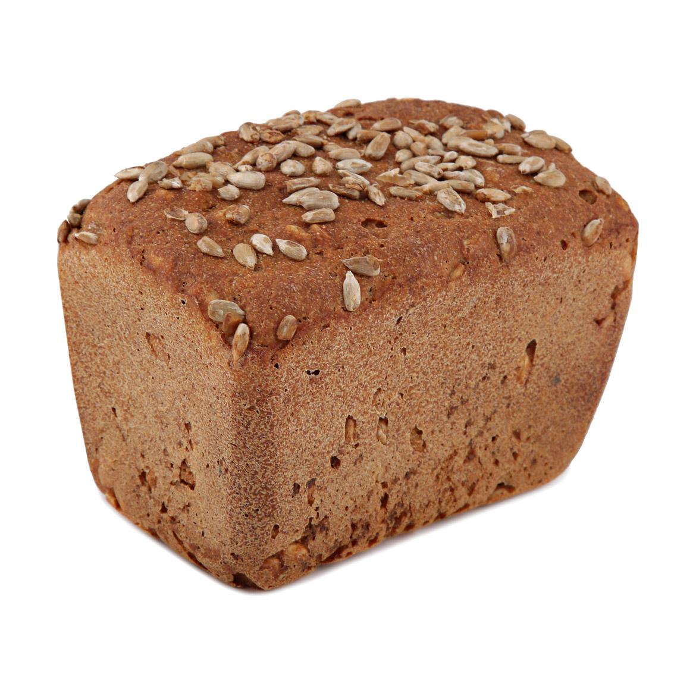 Фото - Хлеб бездрожжевой Хлебъ Иван Давыдовъ формовой с семечками 360 чёрный хлеб смесь для выпечки био хлеб из полбы формовой на закваске 0 525 кг
