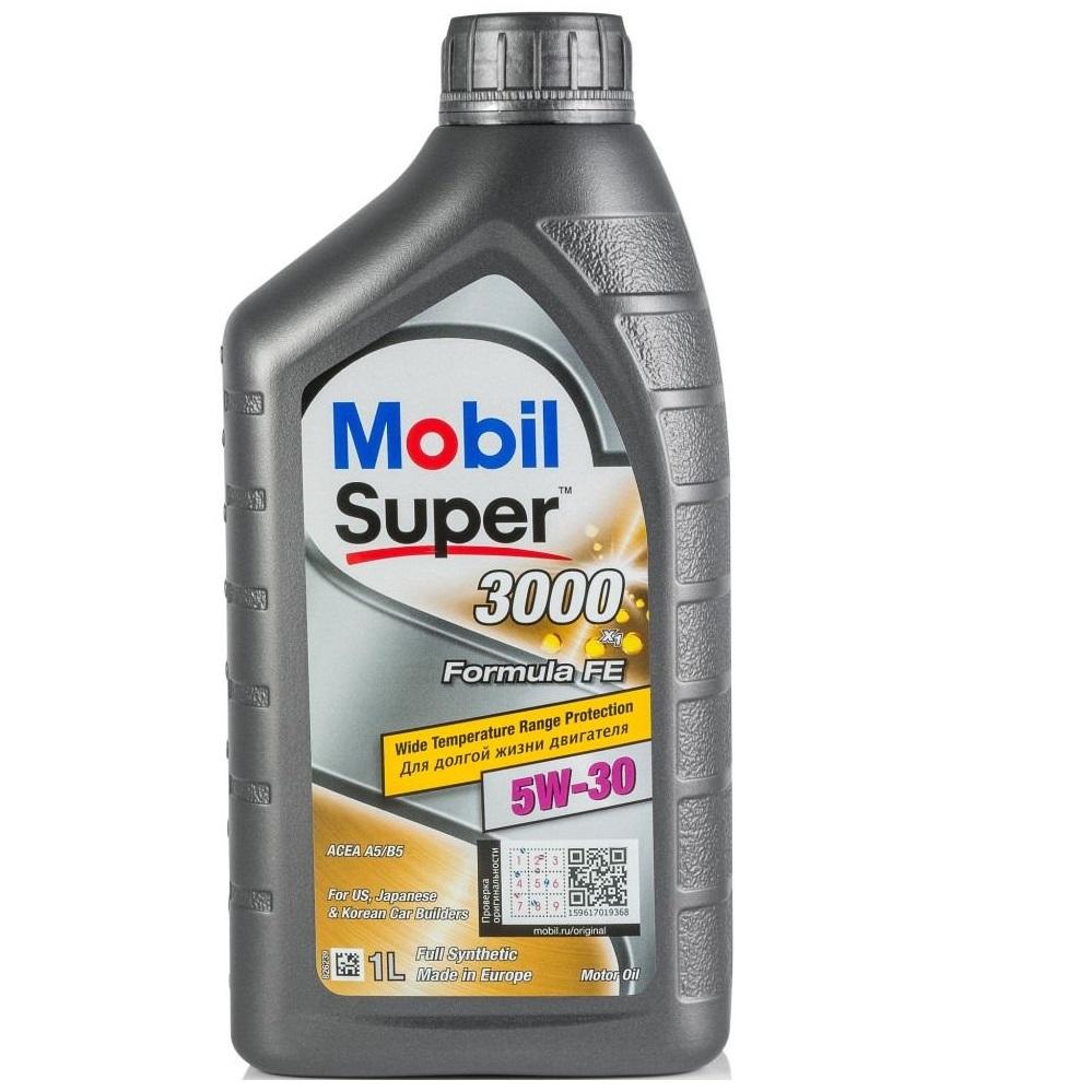 Масло синтетическое Mobil SUPER 3000 FormulaFE 5W-30 1л
