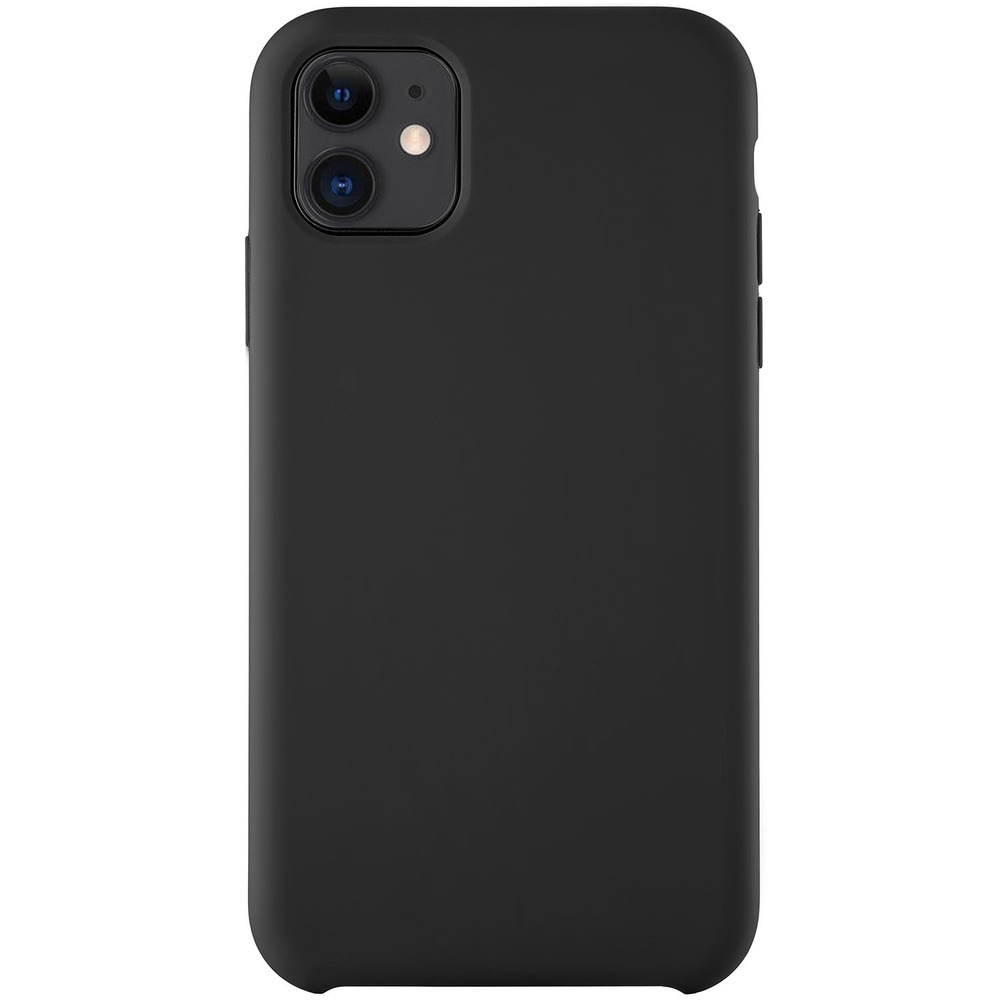 Чехол uBear Soft Touch Case для смартфона Apple iPhone 11, черный