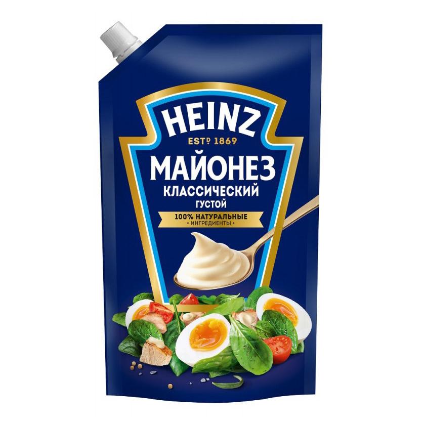 Майонез HEINZ Классический 67% 350 мл.