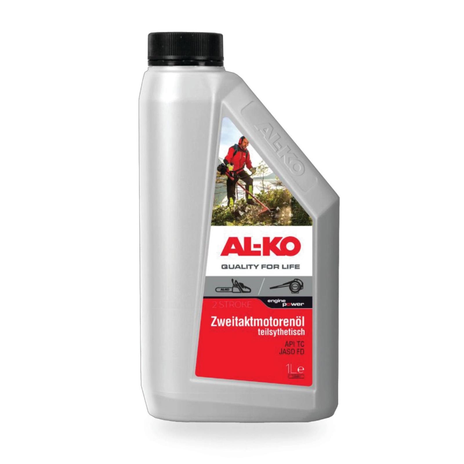 Масло Al-ko для 2-тактных двигателей 1л полусинтетика