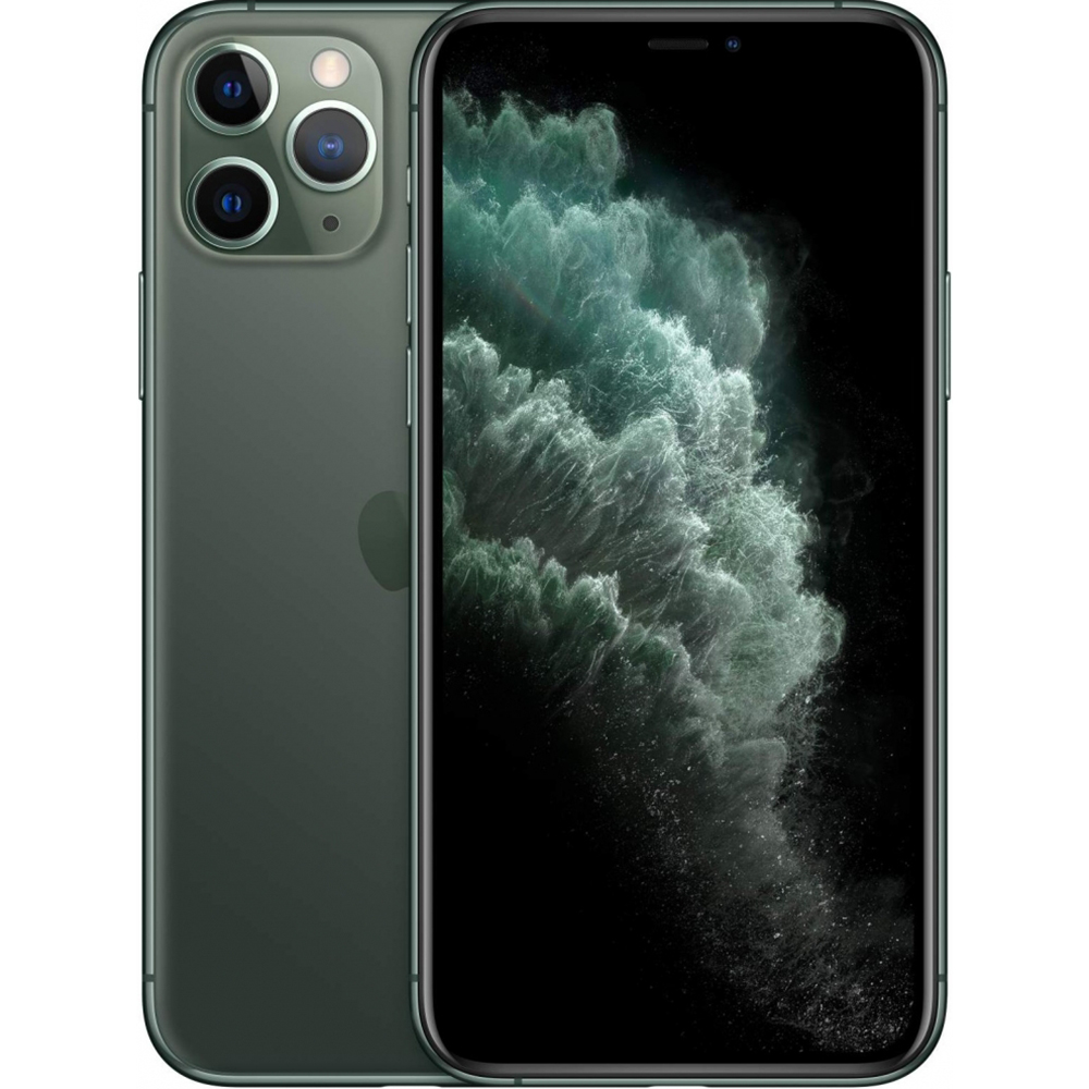 фото Смартфон apple iphone 11 pro max 256 gb midnight green