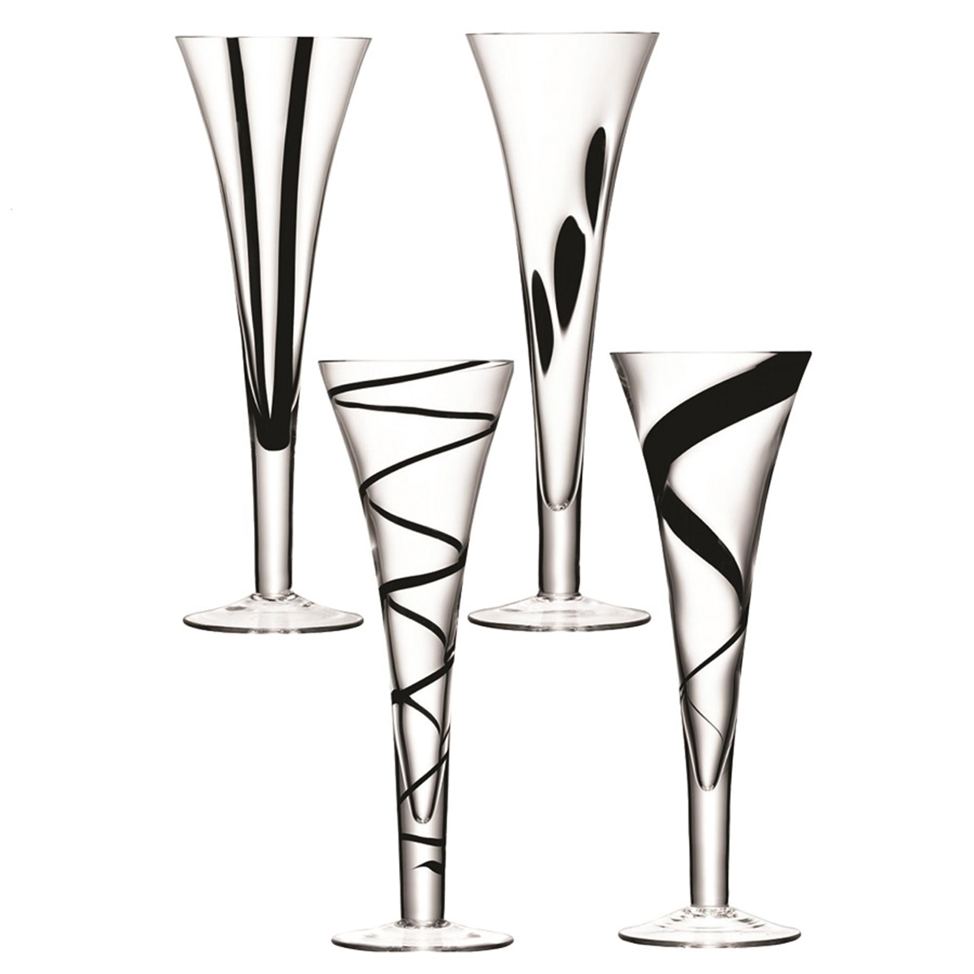 Набор бокалов LSA international Jazz для шампанского 0,25 л фото