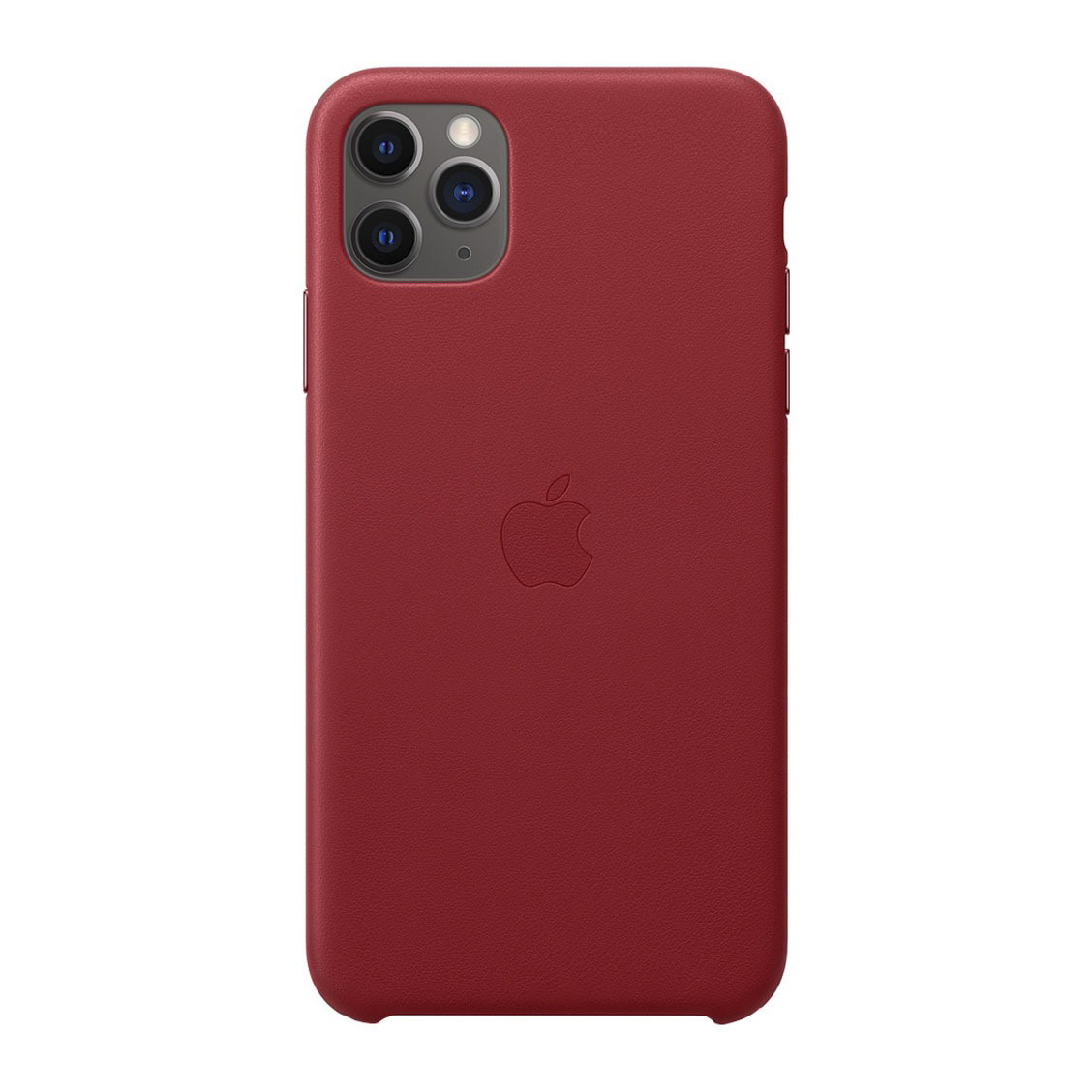 Чехол для смартфона Apple iPhone 11 Pro Leather Case, красный фото