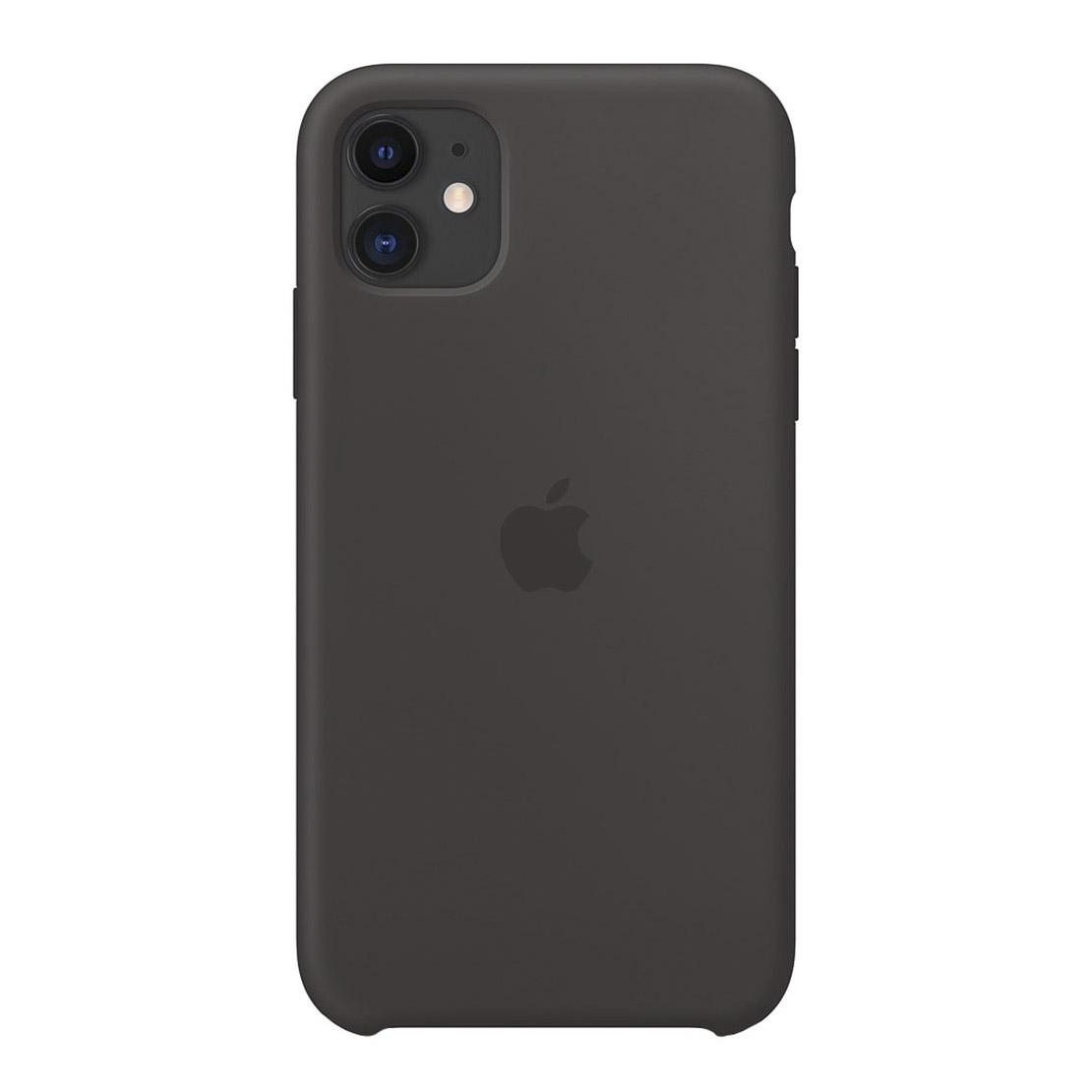 Чехол для смартфона Apple iPhone 11 Silicone Case, черный фото