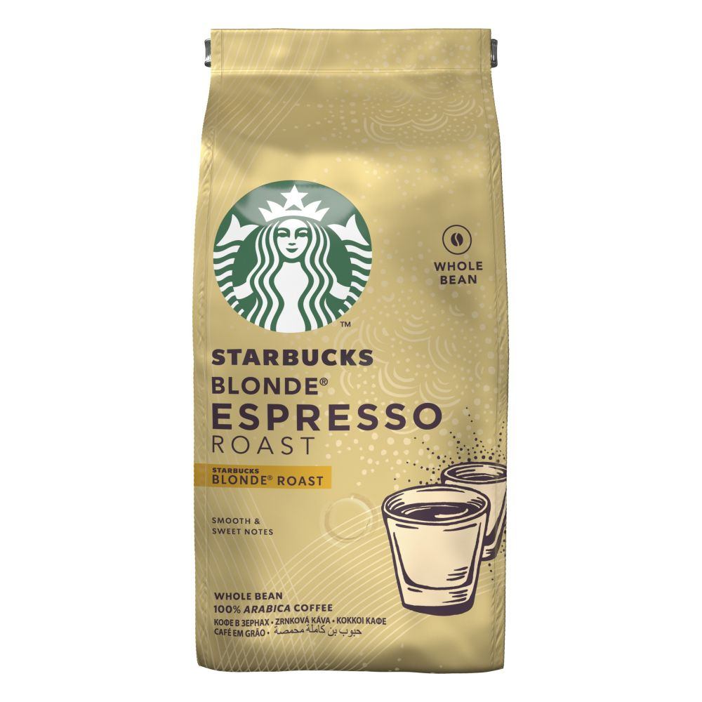 Кофе в зернах Starbucks Blonde Espresso Roast 200 г