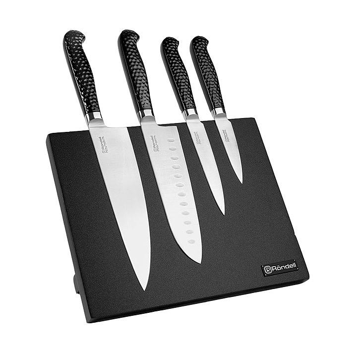Набор кухонных ножей Rondell RainDrops 5 предметов набор ножей 5 предметов rondell baselard rd 1160