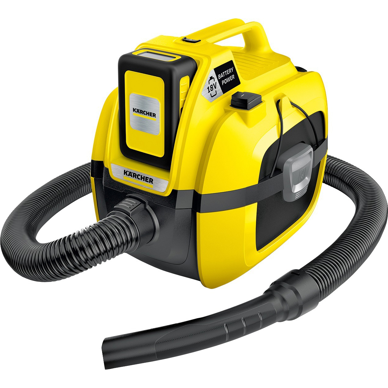 Пылесос Karcher WD 1 Compact Battery Set фото
