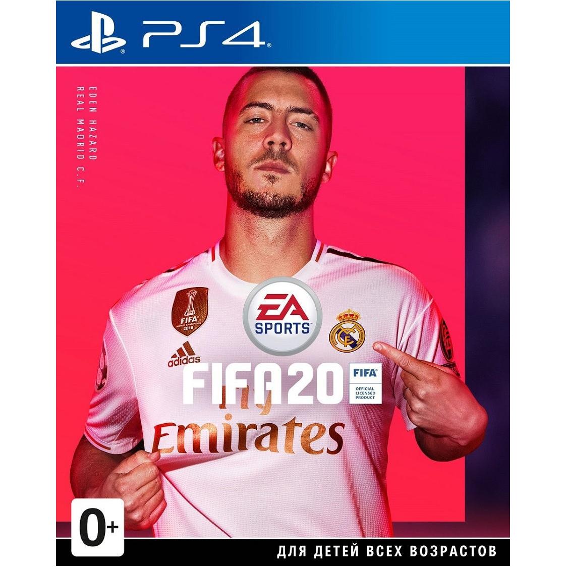 Игра для Sony PS4 FIFA 20 русская версия ps4 fifa 20