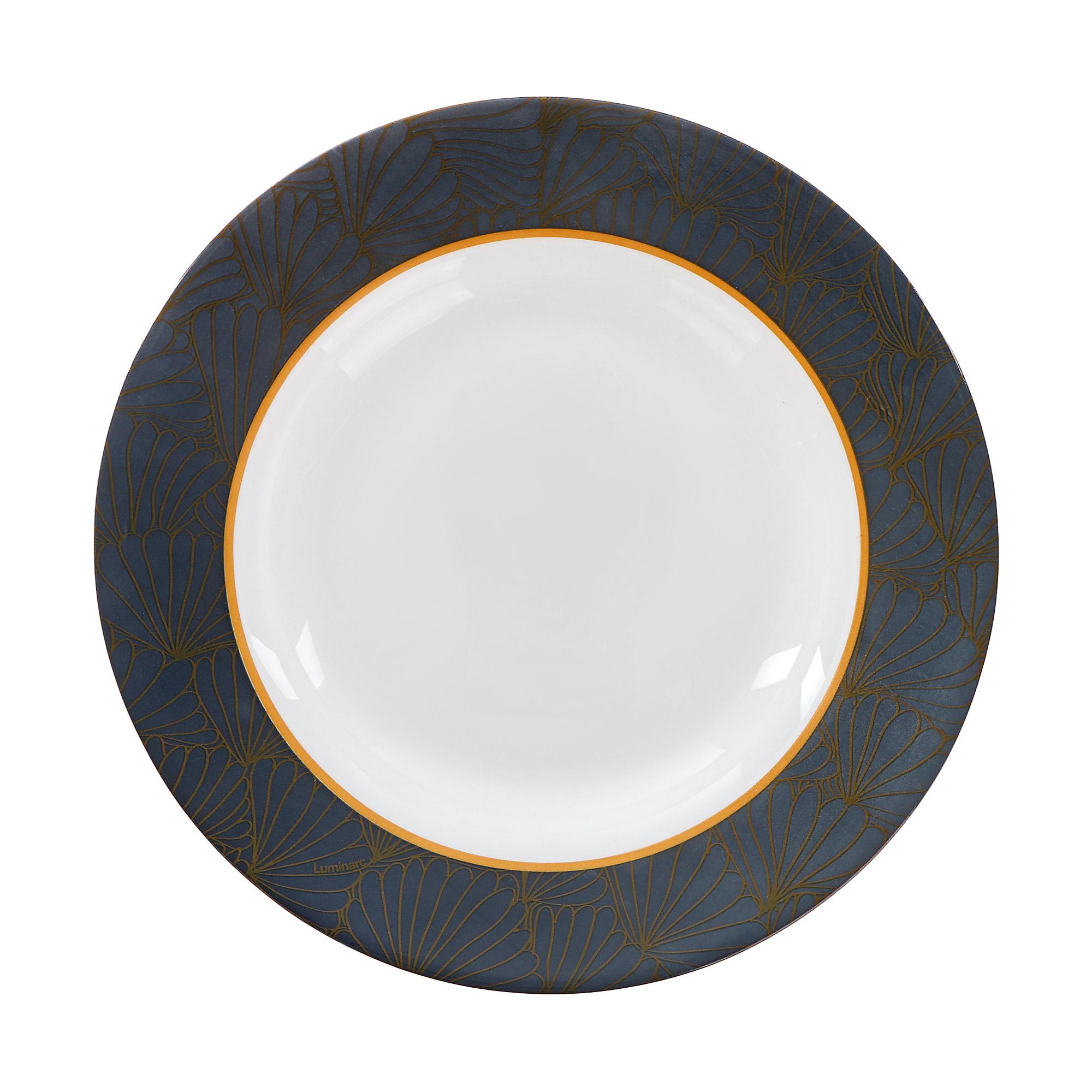 Тарелка суповая Luminarc Prusse 22 см тарелка суповая luminarc amely 22 см