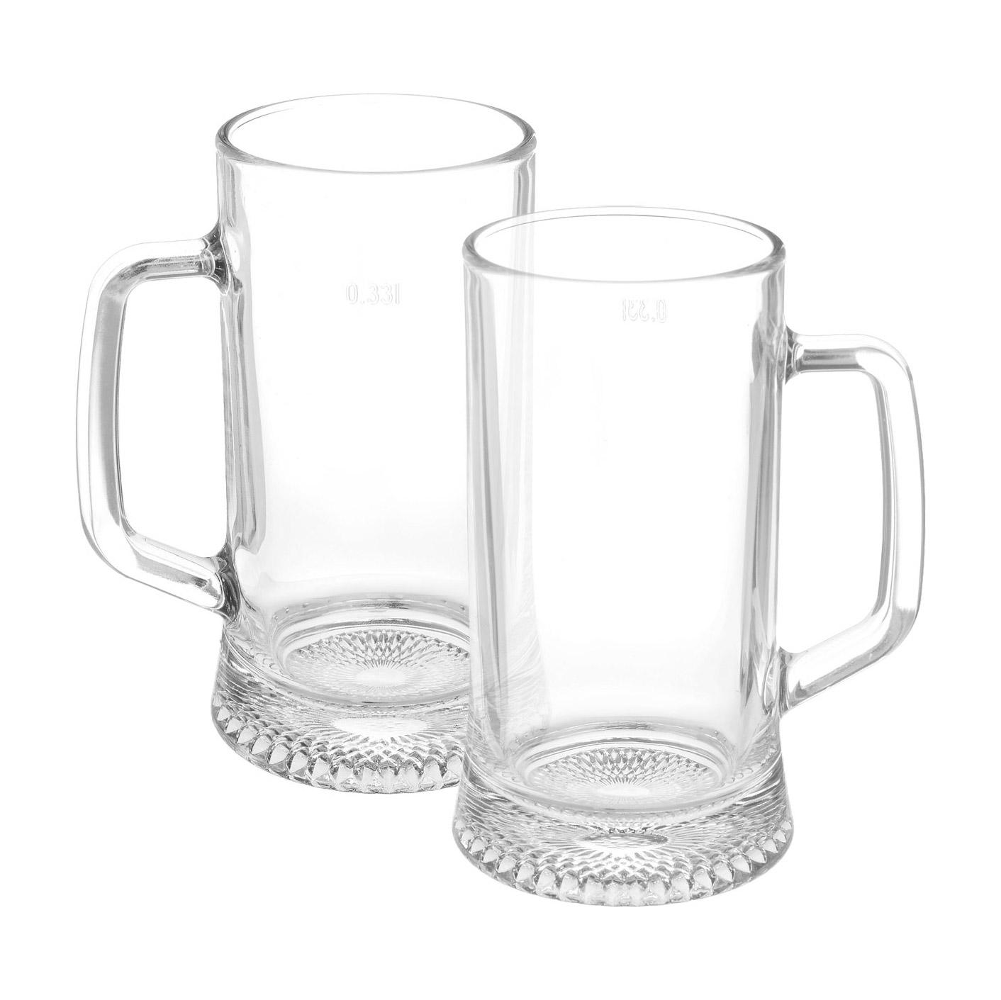 Набор кружек Luminarc Dresden для пива 330 мл 2 шт набор кружек для пива гамбург 2шт 500мл стекло