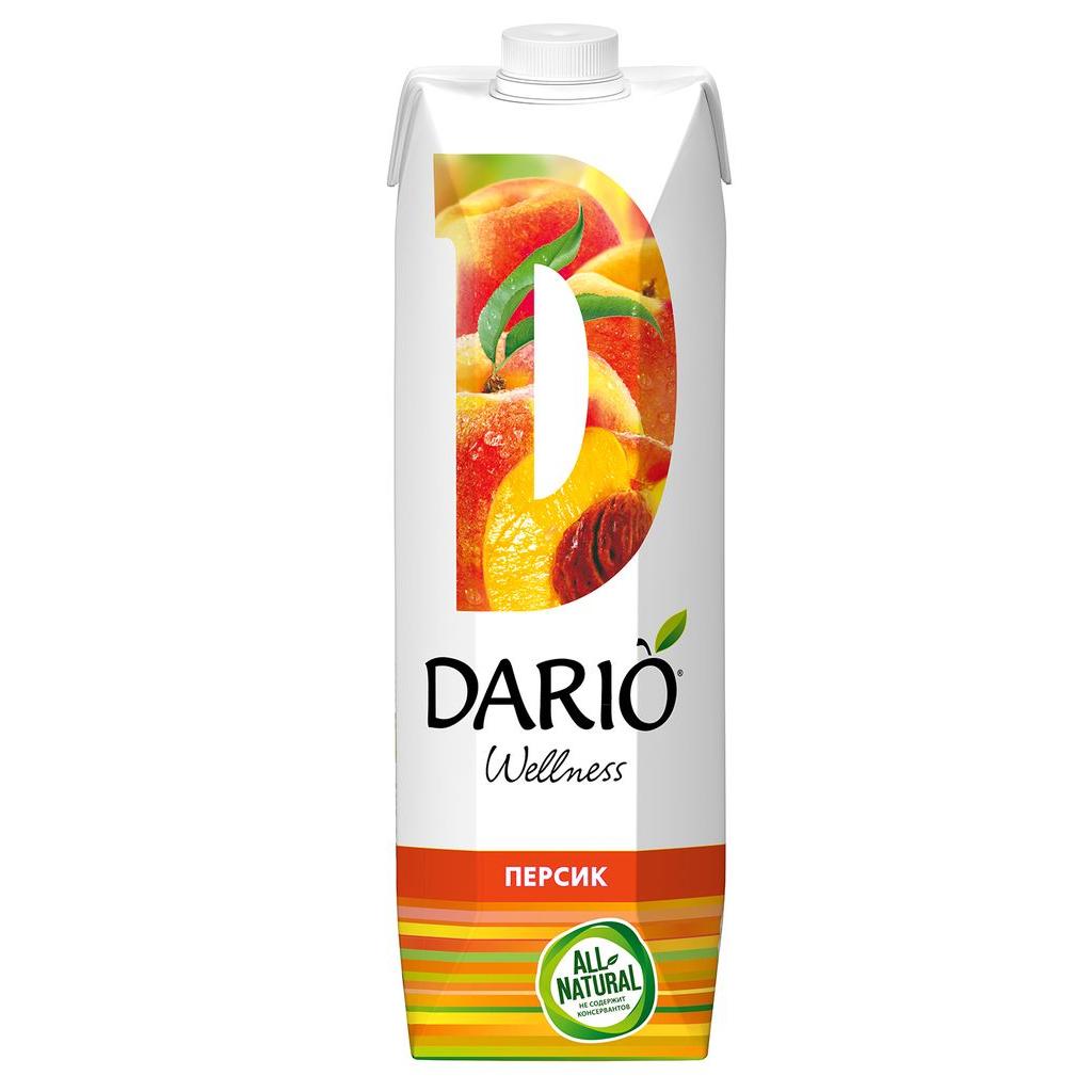 Нектар Dario Wellness Персиковый 1 л