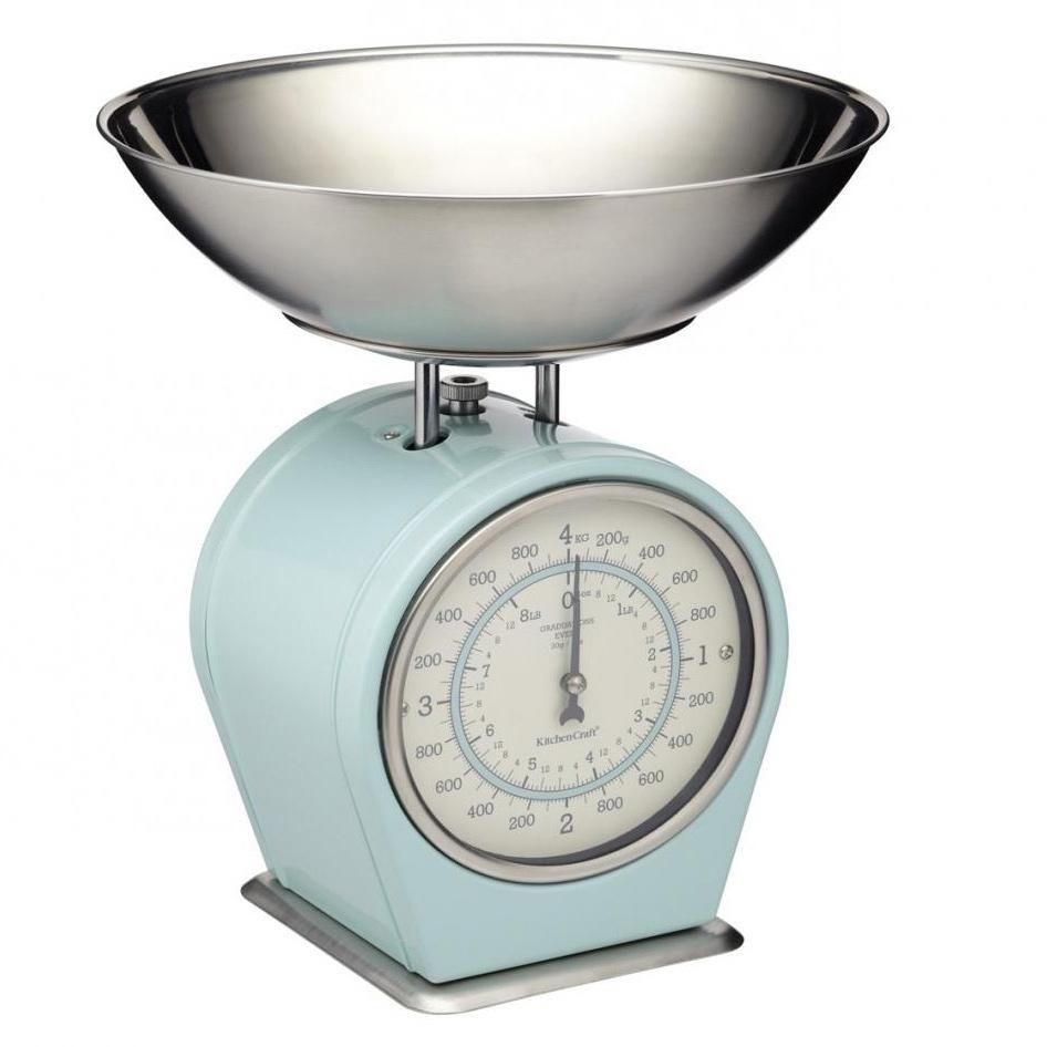 кухонные весы Весы кухонные Kitchen Craft Living Nostalgia blue