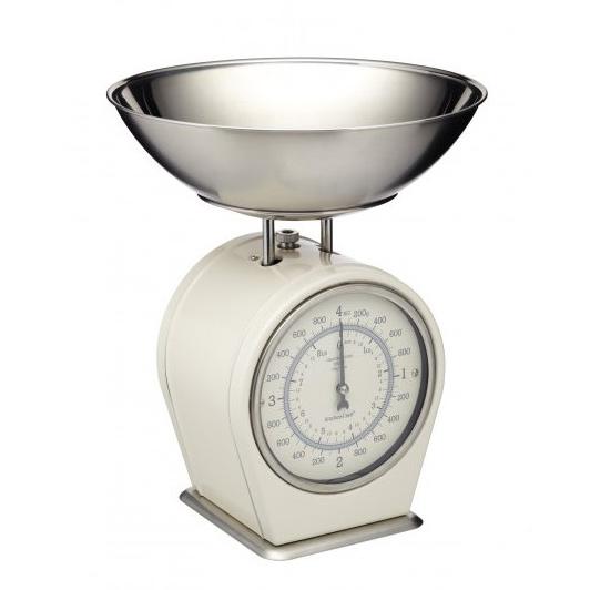 кухонные весы Весы кухонные Kitchen Craft Living Nostalgia creamy