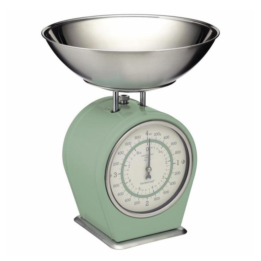 кухонные весы Весы кухонные Kitchen Craft Living Nostalgia green