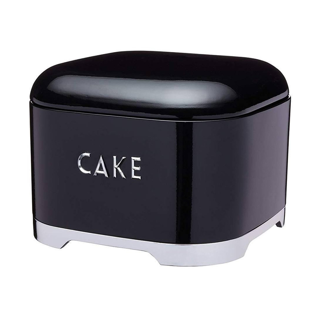 Ёмкость для пирожных Lovello Retro black 26х20 см