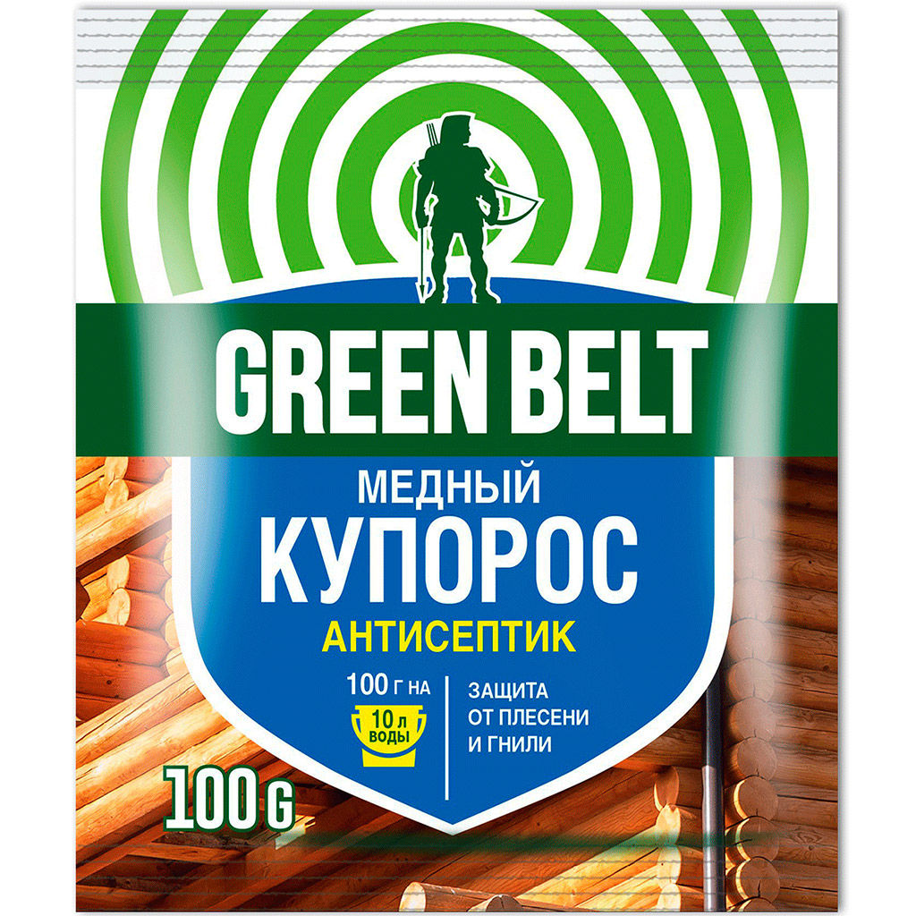 Фото - Купорос медный Green Belt 100 jw7gb green