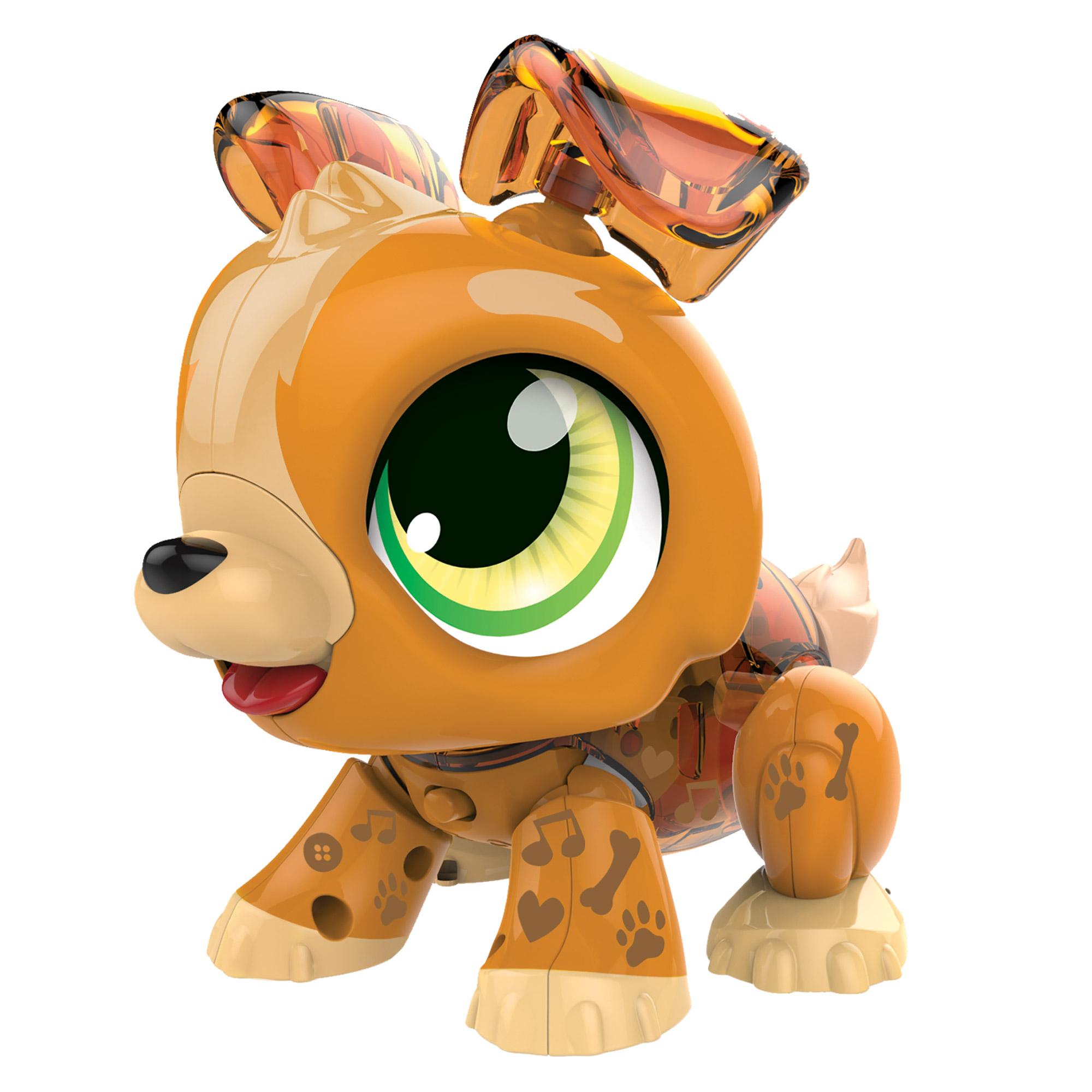 Фото - Интерактивная игрушка 1toy РобоЛайф Щенок игрушка интерактивная 1toy robo pets робо щенок розовый