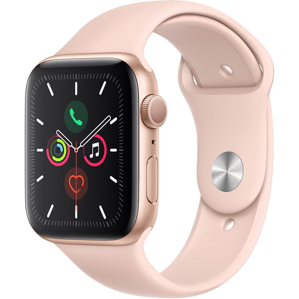 Фото - Умные часы Apple Watch Series 5 44 мм золотистый MWVE2RU/A ремешок для смарт часов devia deluxe sport 3 для apple watch 4 44 мм оранжевый