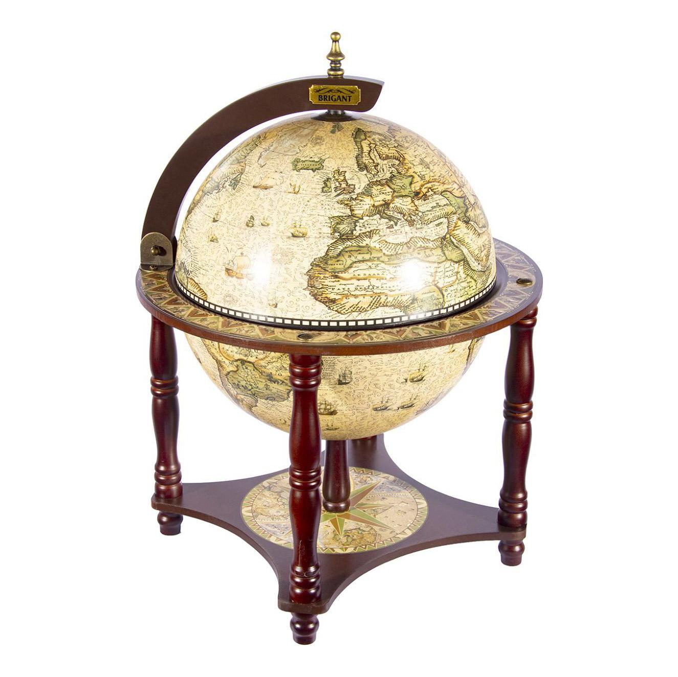 Глобус-бар Brigant сокровище древнего мира d33см