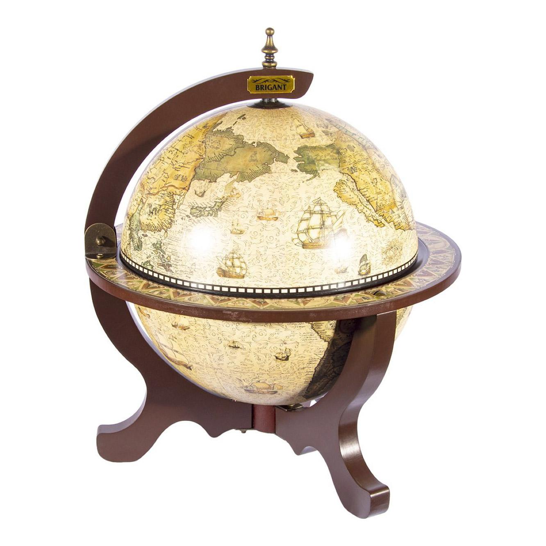 Глобус-бар Brigant сокровище древнего мира