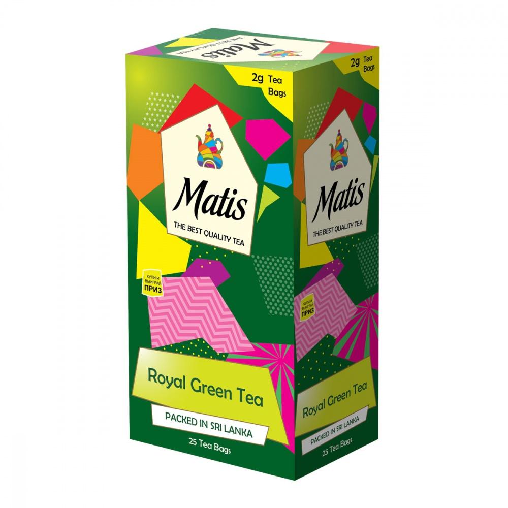 Чай зеленый Matis Королевский 25х2 г недорого