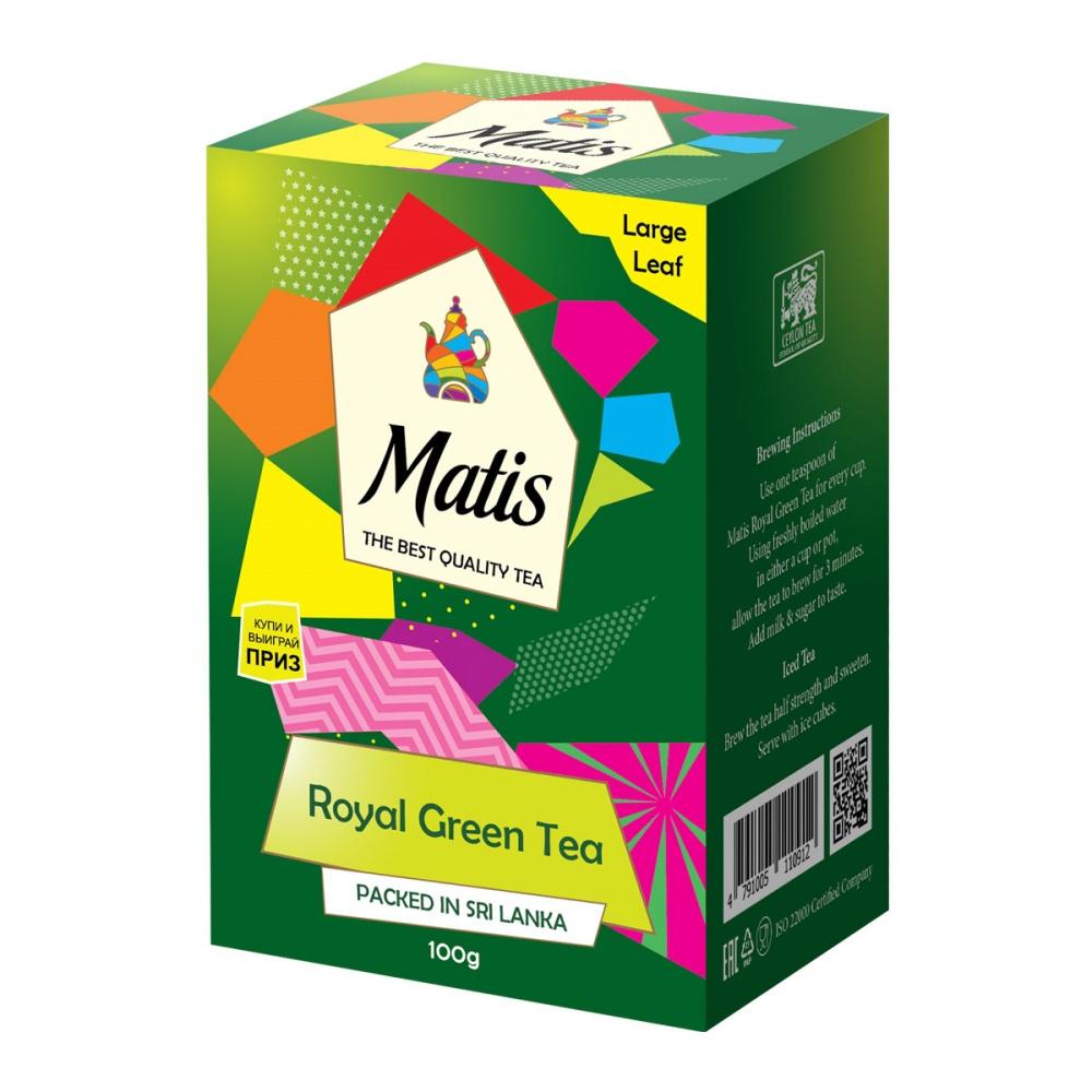 Чай зеленый Matis Королевский 100 г недорого